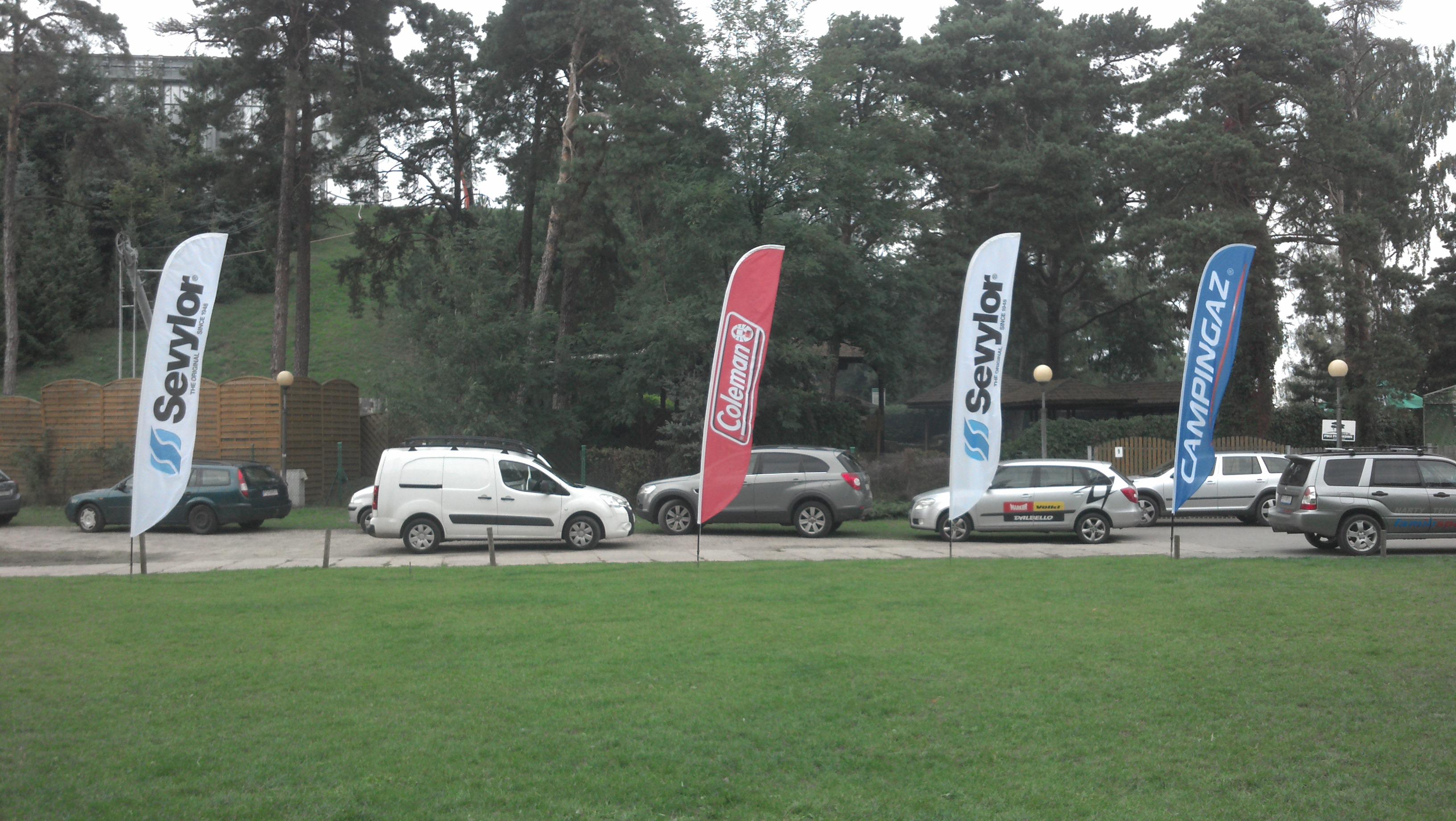 Zestaw flag firmowych Campingaz