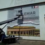 Reklama mesh Lemar