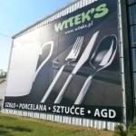 Reklama wielkoformatowa Witeks