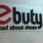 Salon obuwniczy PCV + litery ze styroduru 3D
