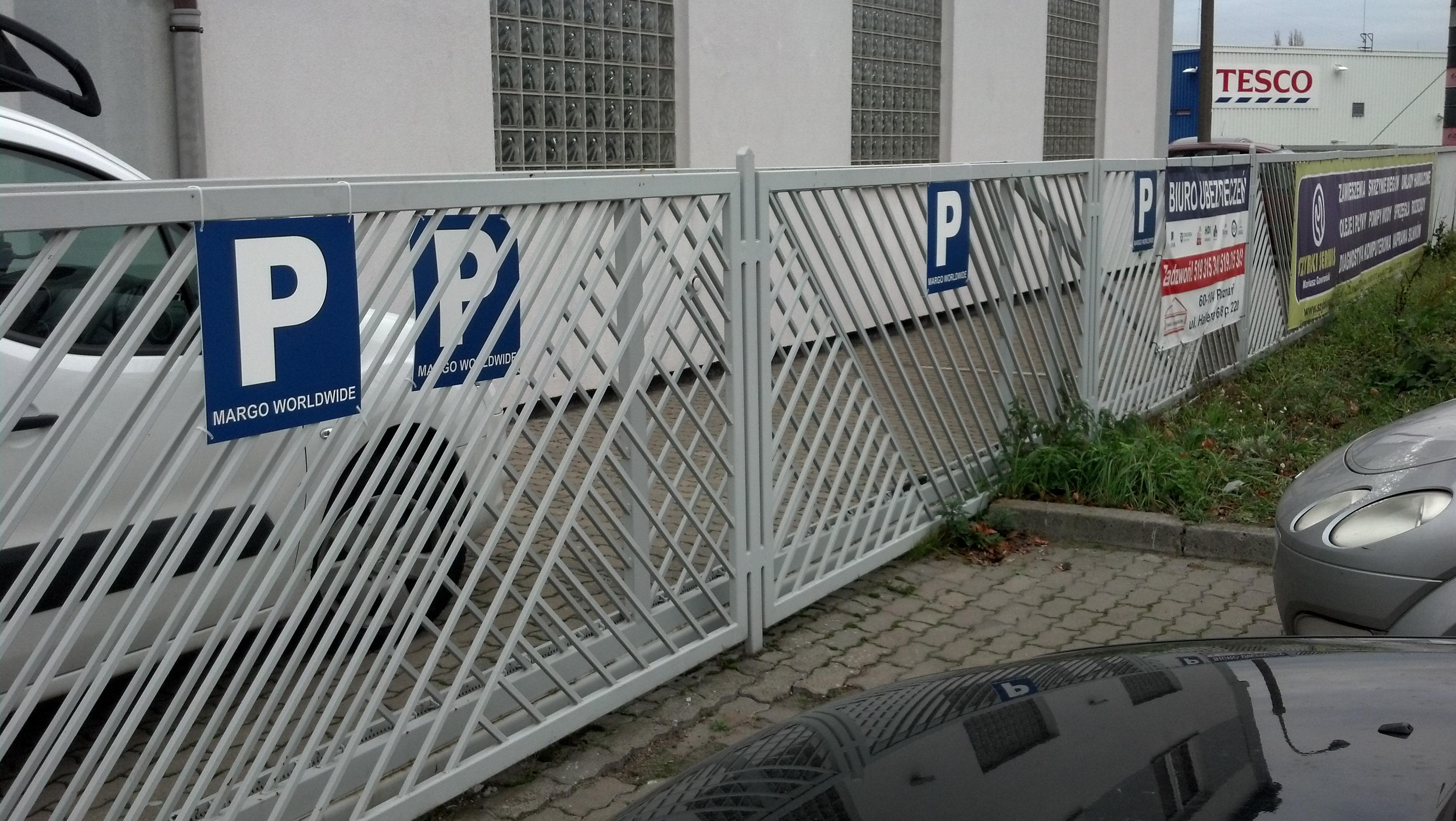 Tabliczki parkingowe
