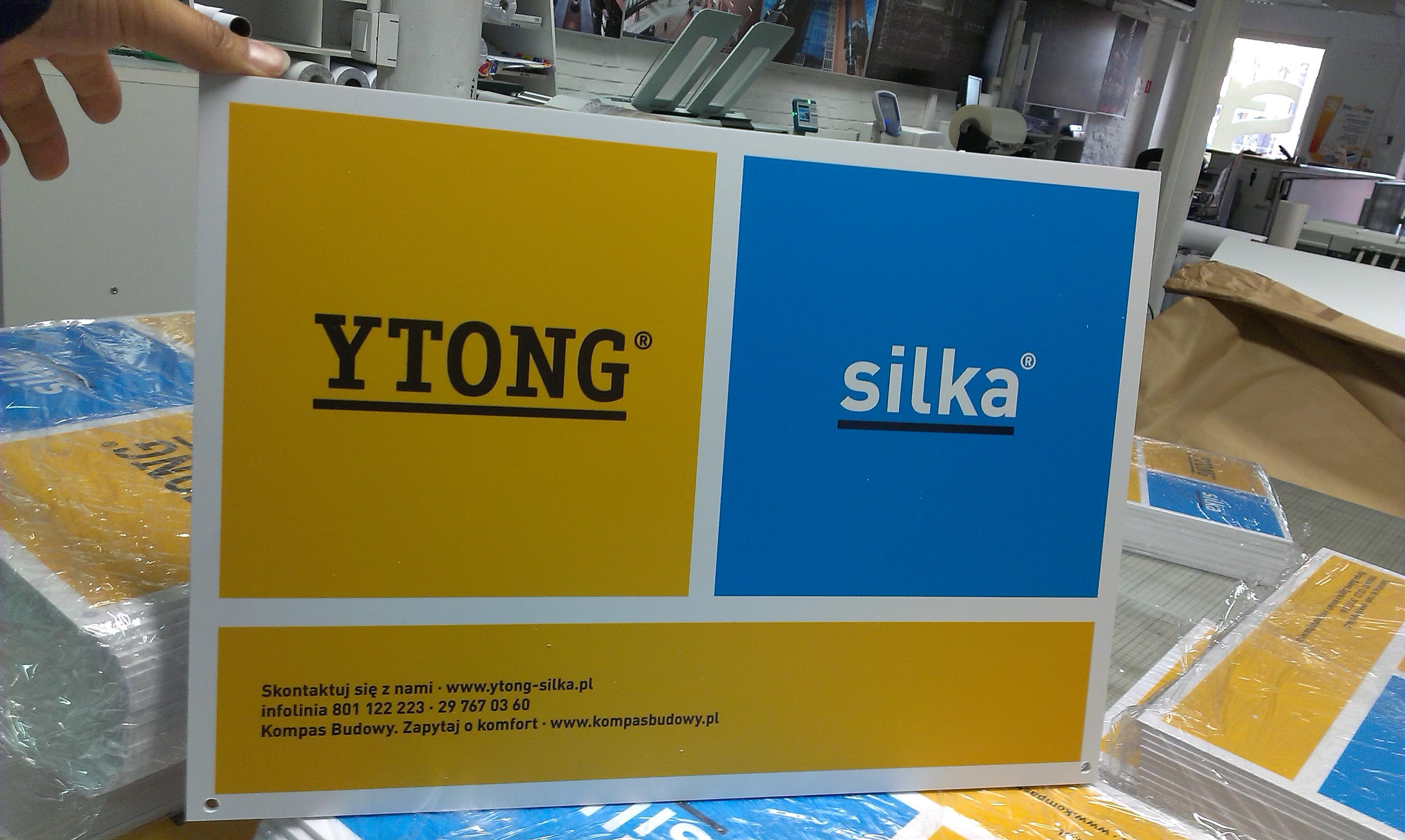 Materiały POS Ytong Silka