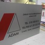 Tabliczka adresowa budowlana