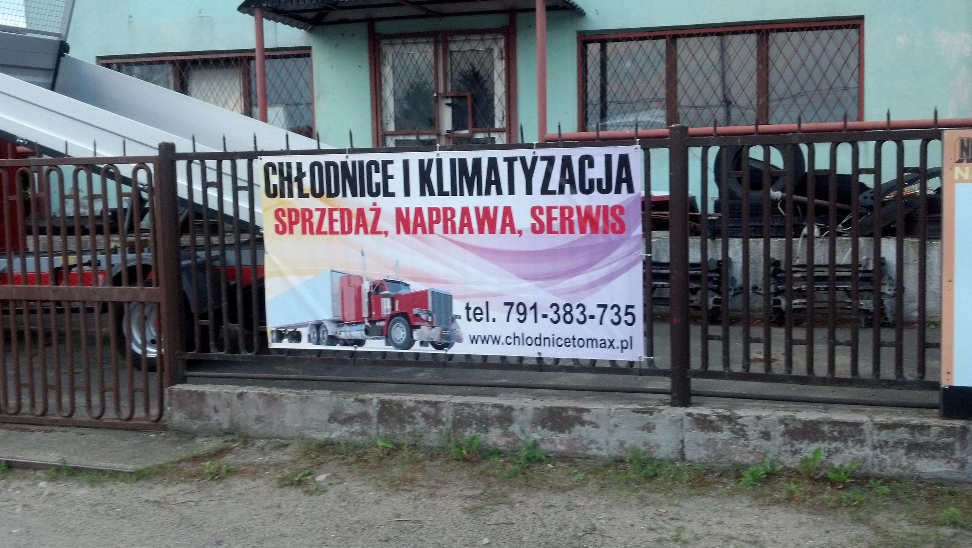 Baner reklamowy auto naprawa