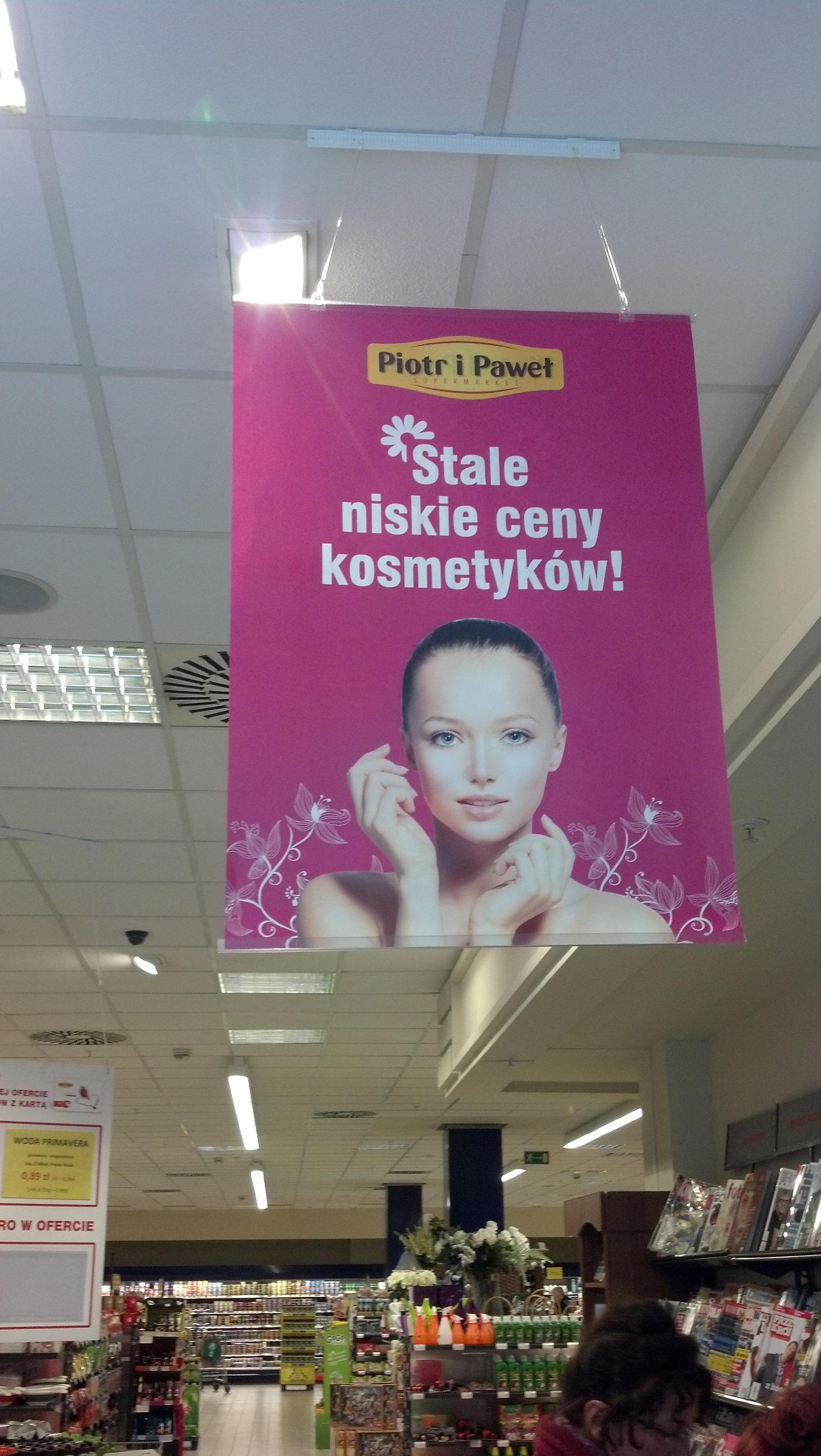 Reklama w markecie