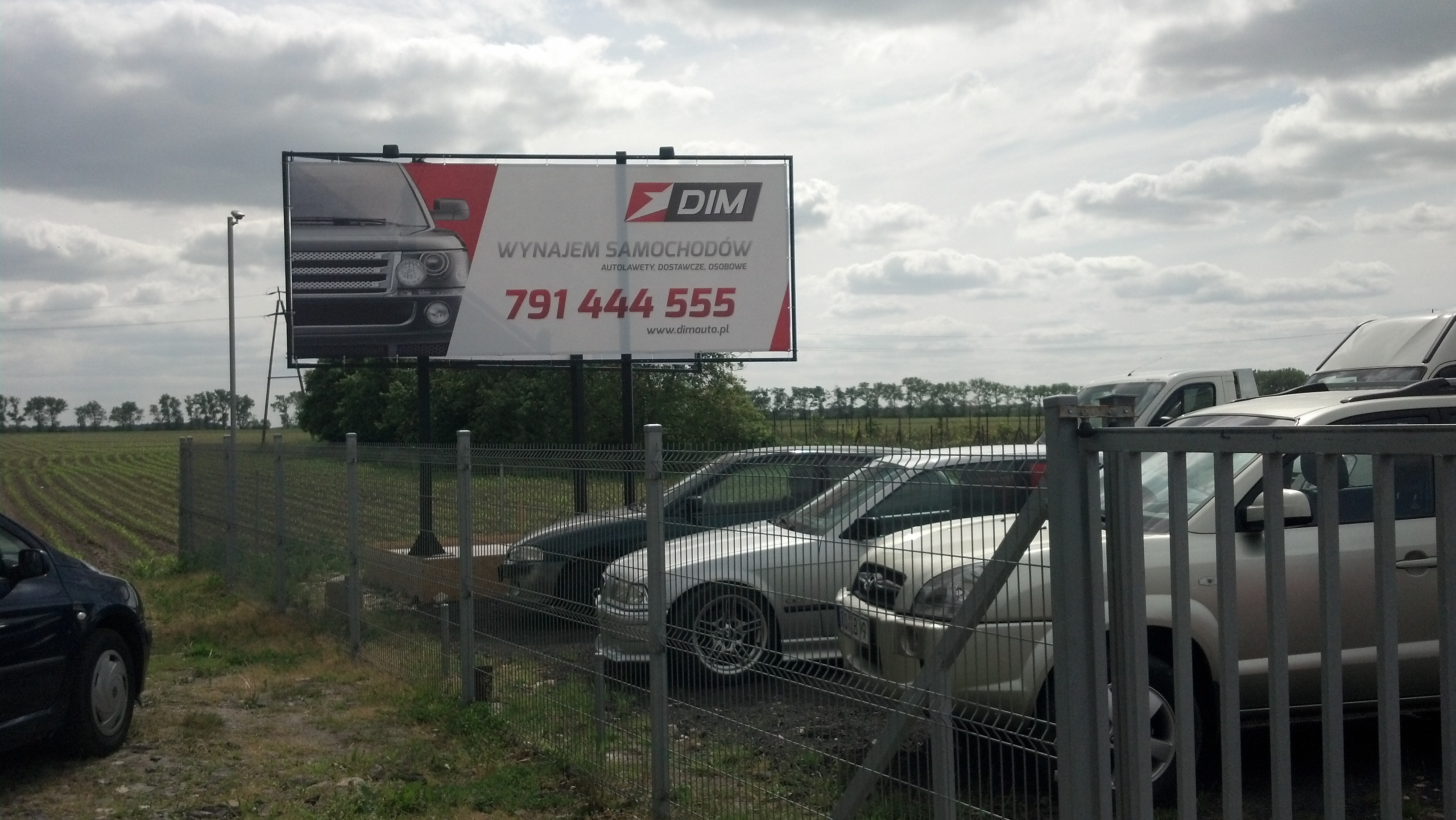 Konstrukcja reklamowa DIM